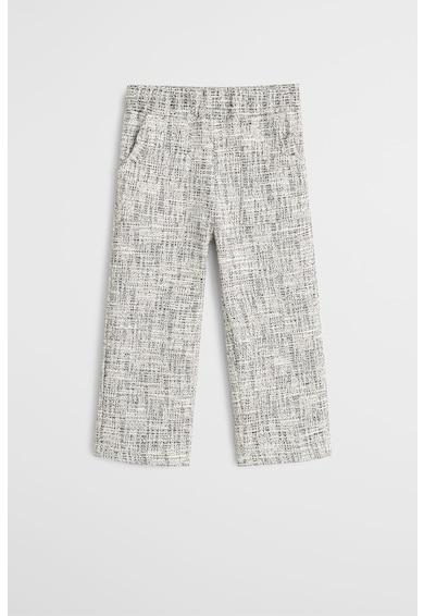 Mango Pantaloni cu model discret cu pete decorative Gema Fete