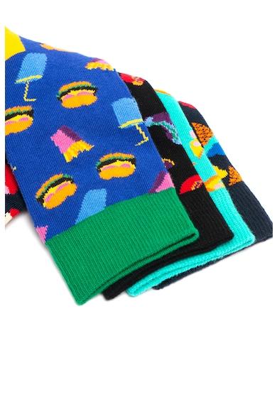 Happy Socks Унисекс дълги чорапи с десен - 4 чифта Жени