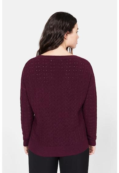 VIOLETA BY MANGO Свободен пуловер Dust с шпиц деколте Жени
