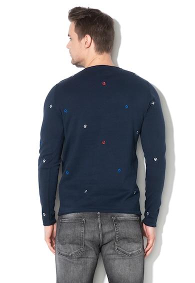 Only & sons Pulover din tricot fin cu detalii brodate Garson Barbati