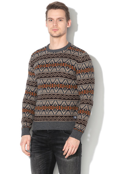 Jack&Jones Jack & Jones, Pulover din amestec de lana Howel Barbati