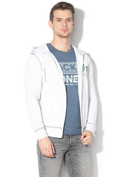 Jack&Jones Hanorac regular fit cu captuseala din material fleece Ward Barbati