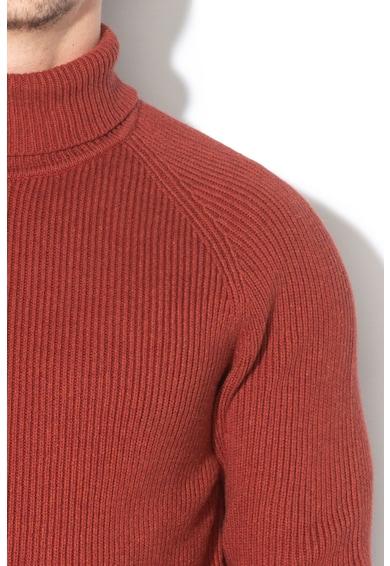 Jack&Jones Pulover din amestec de lana cu guler inalt Mickey Barbati