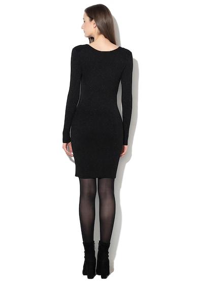 Only Rochie tricotata fin, cu insertii de lurex Kacey Femei