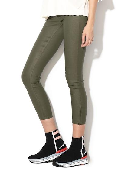 Only Pantaloni crop peliculizati Kendell Femei