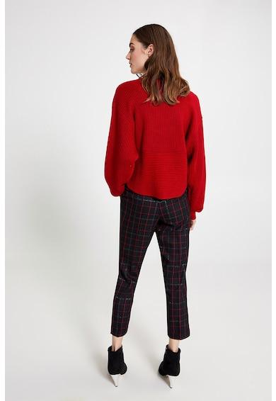 Motivi Pulover din amestec de lana cu aspect petrecut Femei