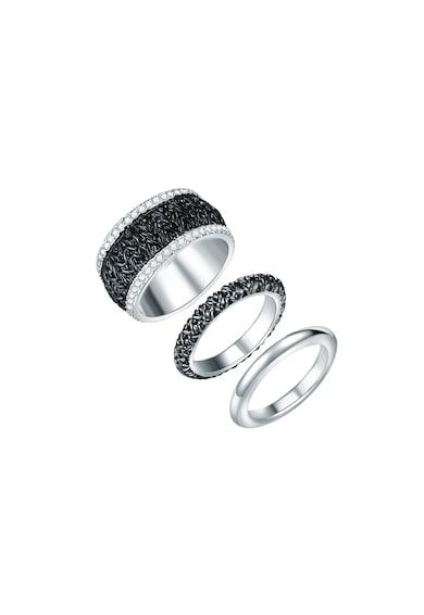 Highstreet Jewels Set de inele placate cu argint - 3 piese Femei
