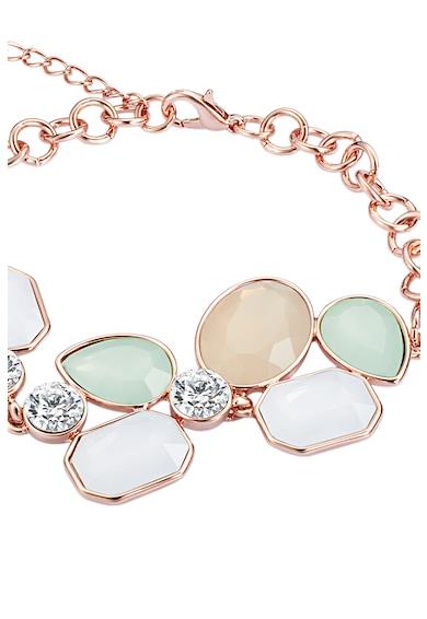 Highstreet Jewels Bratara cu placaj de aur roz si decorata cu cristale Swarovski Femei