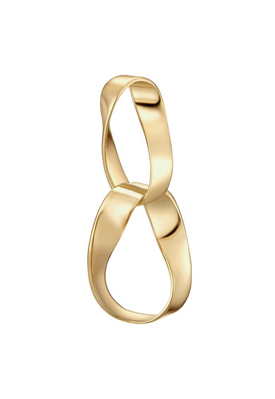 Highstreet Jewels Cercei cu tija si placaj de aur Femei