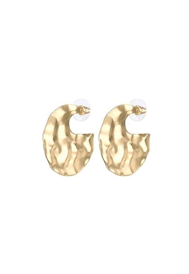 Highstreet Jewels Cercei rotunzi, placati cu aur Femei
