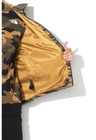 The North Face Jacheta impermeabila cu model camuflaj si gluga, pentru drumetii Millerton Barbati