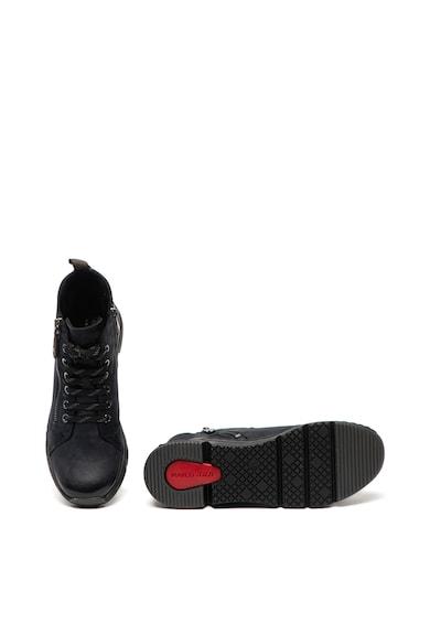 Marco Tozzi Pantofi sport inalti de piele nabuc Femei