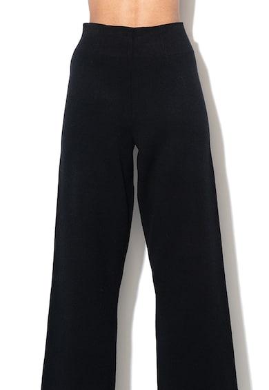 Stefanel Pantaloni cu croiala ampla si talie inalta Femei