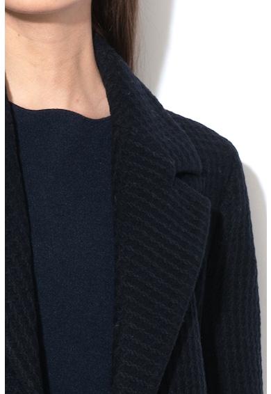 Stefanel Palton din amestec de lana cu model petrecut Femei
