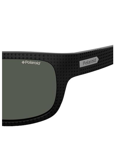 Polaroid Ochelari de soare dreptunghiulari cu lentile polarizate Barbati