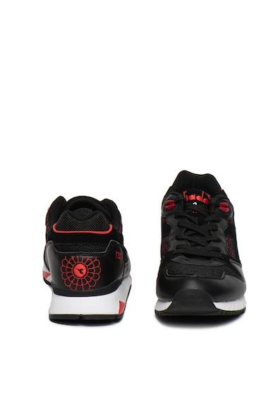 Diadora Pantofi sport cu garnituri din piele intoarsa si piele V7000 Samurai Barbati