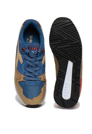 Diadora Pantofi sport unisex de piele intoarsa si piele V7000 Premium Femei