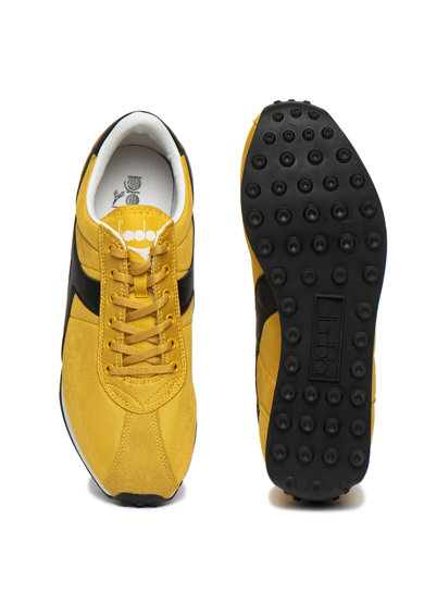 Diadora Pantofi sport cu garnituri din piele ecologica Sirio Barbati