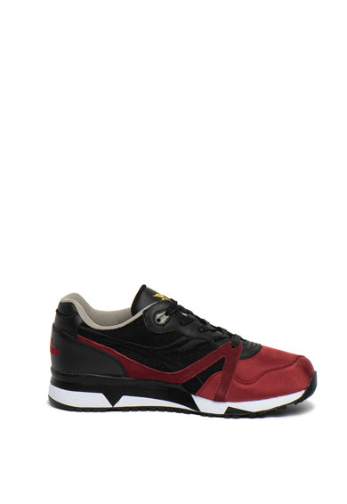 Diadora Pantofi sport cu garnituri din piele intoarsa si piele N9000 Barbati