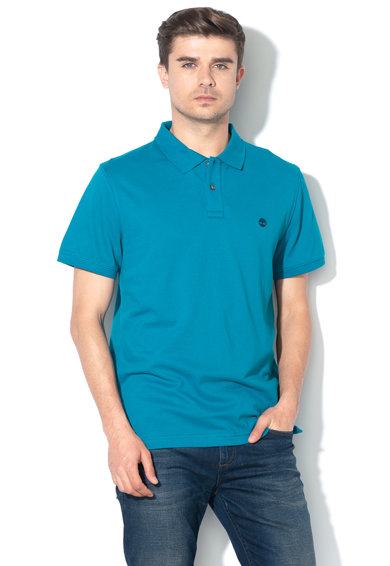 Timberland Tricou polo slim fit, din pique River Barbati