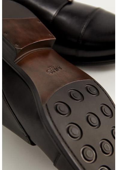 Mango Pantofi monk de piele Barbati