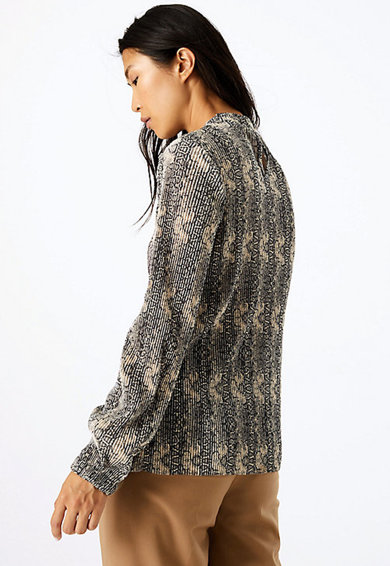 Marks & Spencer Bluza cu aspect striat Femei