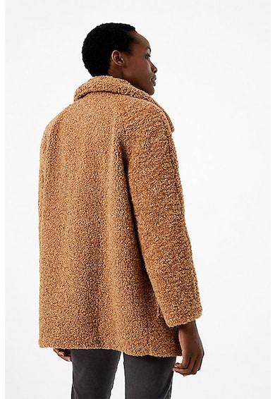 Marks & Spencer Palton cu model boucle si buzunare aplicate Femei