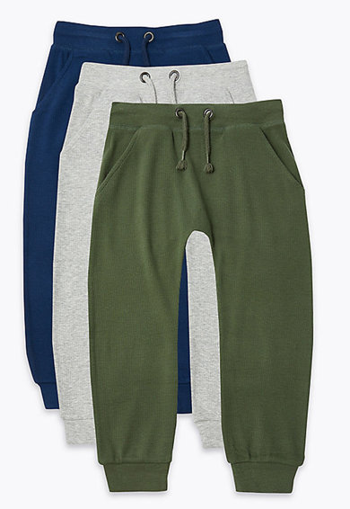 Marks & Spencer Set de pantaloni sport - 3 piese Baieti