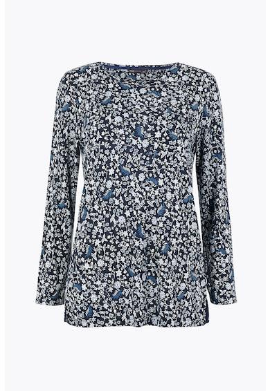Marks & Spencer Bluza cu decolteu la baza gatului si model floral Femei