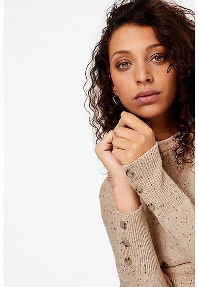Marks & Spencer Pulover din amestec de lana, cu nasturi decorativi Femei