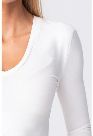 LIN APPAREL Bluza cu decolteu in V Femei
