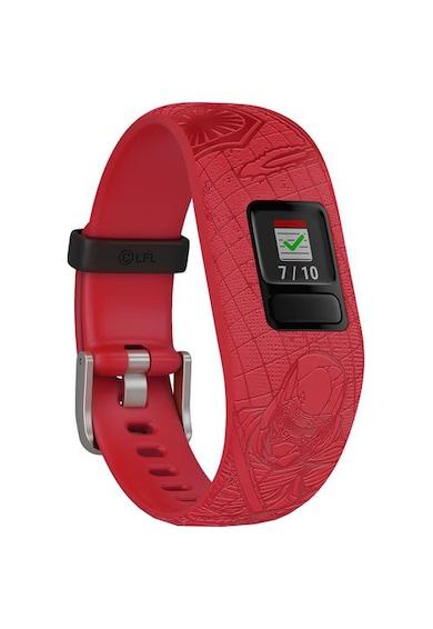 Garmin Smartwatch Vivofit Jr 2, bratara reglabila, Silicon, Dark Side Baieti