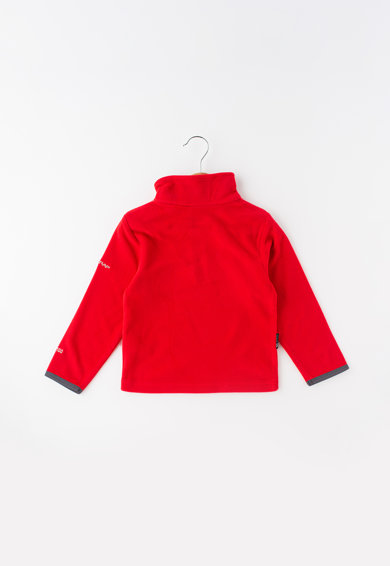 Trespass Bluza sport din material fleece cu fenta cu fermoar Etto Baieti