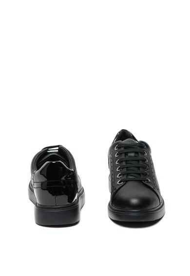 Geox Pantofi sport de piele ecologica Thymar Femei
