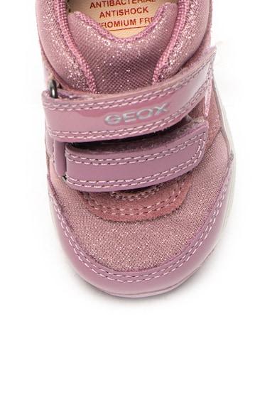Geox Спортни обувки Rishon от кожа и велур Момичета