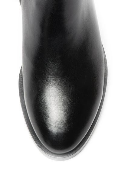 Geox Ghete Chelsea de piele cu detaliu matlasat Brogue Femei