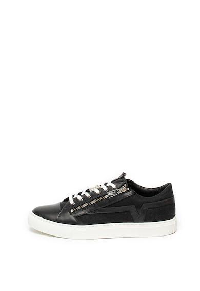 Versace Collection Pantofi sport de piele Barbati