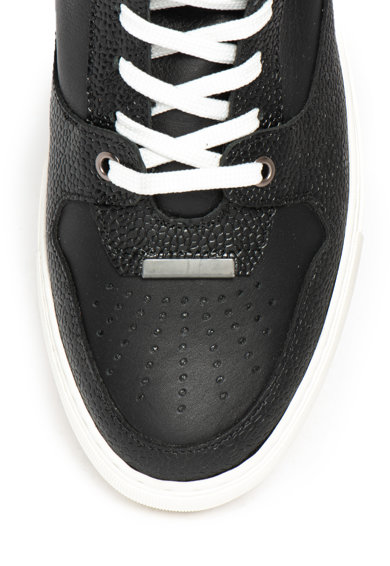 Versace Collection Pantofi sport mid-high de piele Barbati