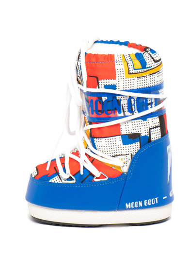 Moon Boot Apreschiuri cu imprimeu geometric Abstract Fete