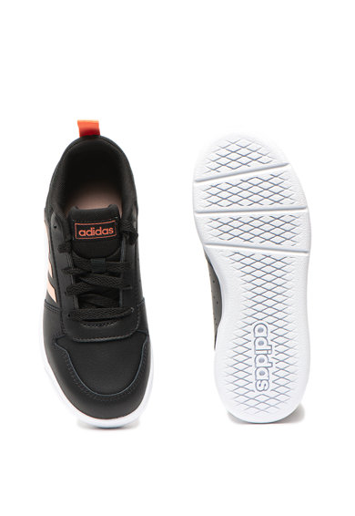 Adidas PERFORMANCE Pantofi sport de piele peliculizata Tensaur K Fete
