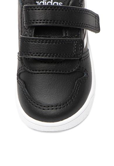 adidas Performance Pantofi sport de piele peliculizata si piele ecologica Tensaur I Fete