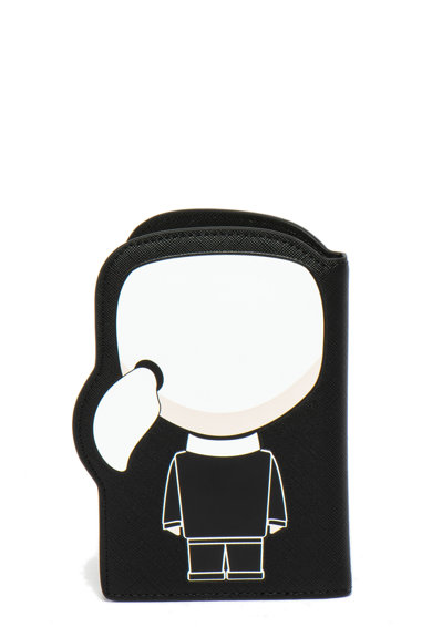Karl Lagerfeld Husa pentru pasaport cu aplicatie logo Ikonik Femei
