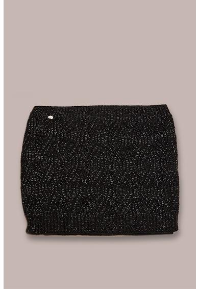 Oltre Fular tricotat, cu insertii cu fir metalic Femei