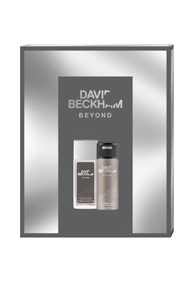 David Beckham Set  Beyond, Barbati: Deodorant Natural Spray, 75 ml + Deodorant Spray, 150 ml Barbati