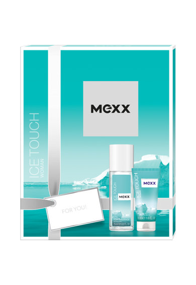 Mexx Set  Ice Touch, Femei: Deodorant Natural Spray, 75 ml + Gel de dus, 50 ml Femei
