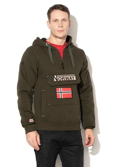 Geographical Norway Hanorac cu logo brodat Gymclass Barbati