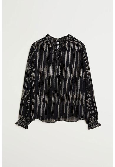 Mango Блуза Filcupe с бляскави нишки Жени