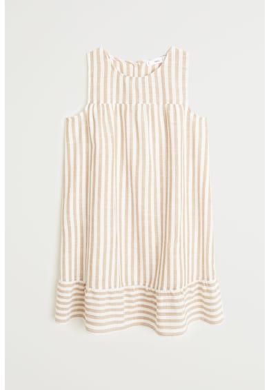 Mango Къса рокля Monet на райе Жени