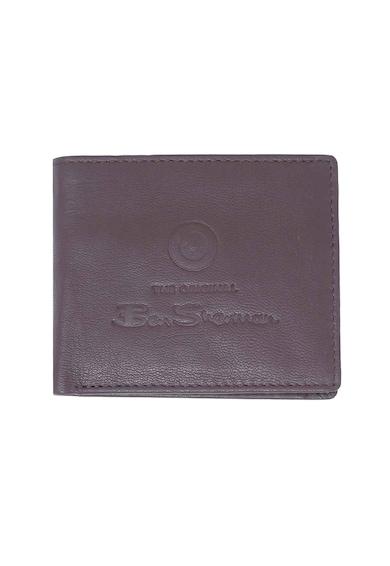 Ben Sherman Кожен портфейл с прегъване и лого Мъже