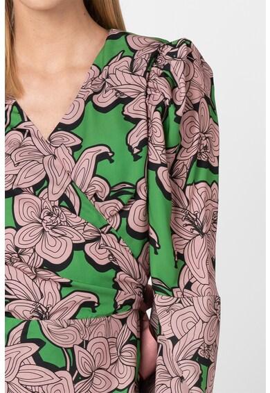 Silvian Heach Collection Rochie petrecuta cu imprimeu floral Lombou Femei